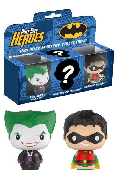 DC Comics Pint Size Heroes Vinyl Figure 3-Pack Batman 7 cm