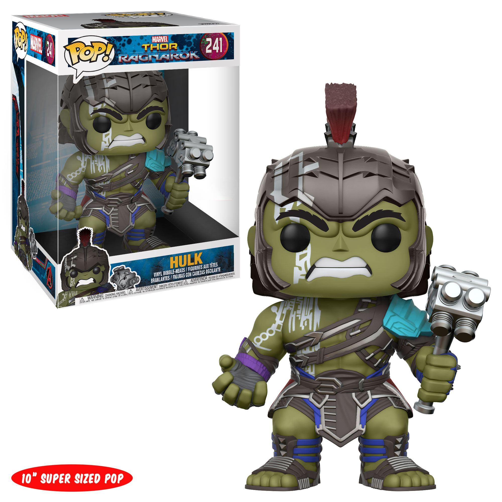 Thor Ragnarok Super Sized POP! Movies Vinyl Figure Gladiator Hulk 25 cm