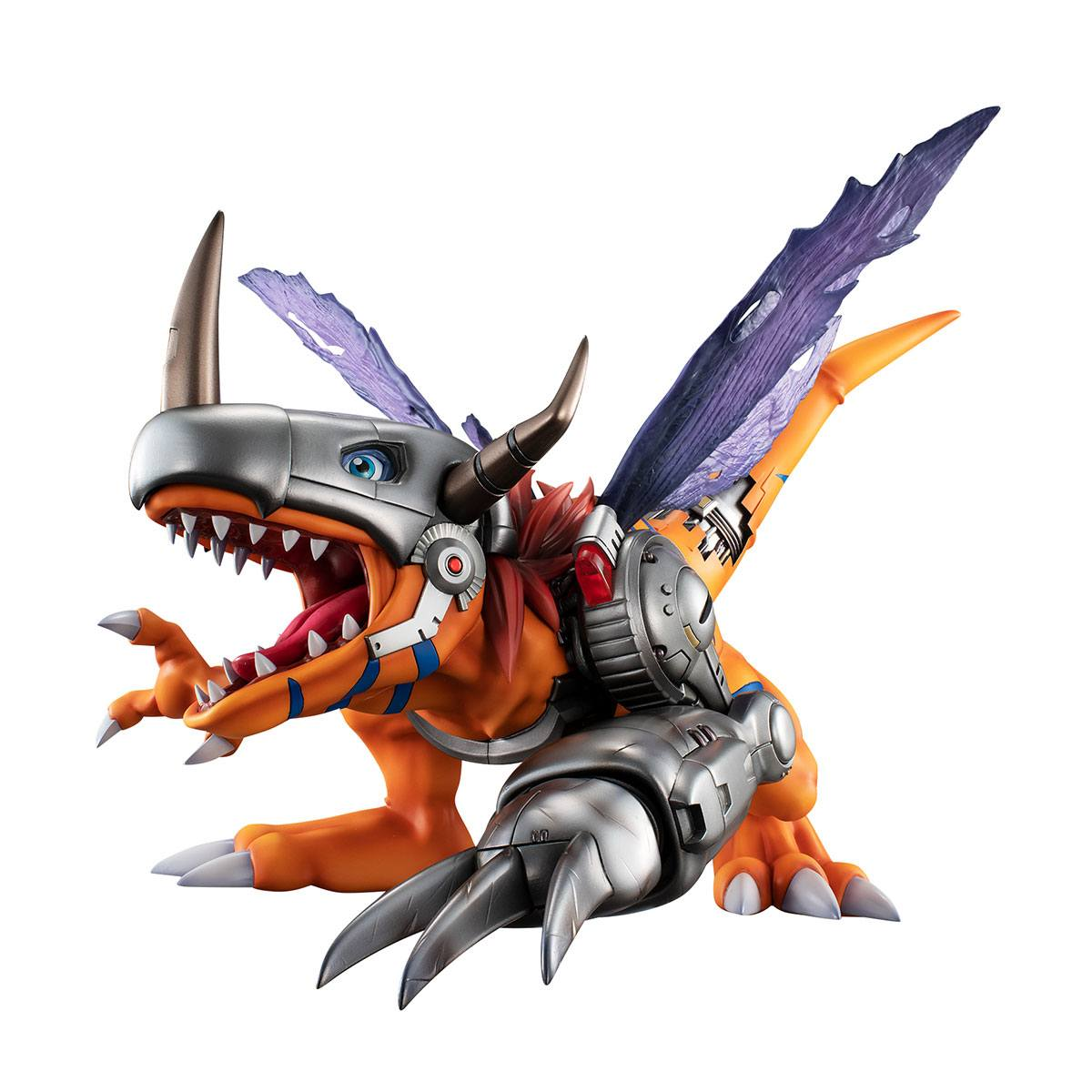 Digimon Adventure Precious G.E.M. Series PVC Statue Metal Greymon 22 cm