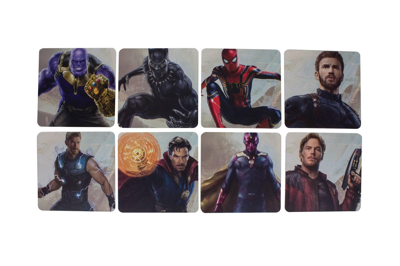 Avengers Infinity War Coaster 8-Pack