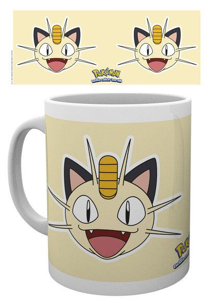 Pokemon Mug Meowth Face
