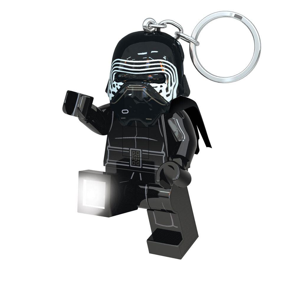 Lego Star Wars Mini-Flashlight with Keychains Kylo Ren