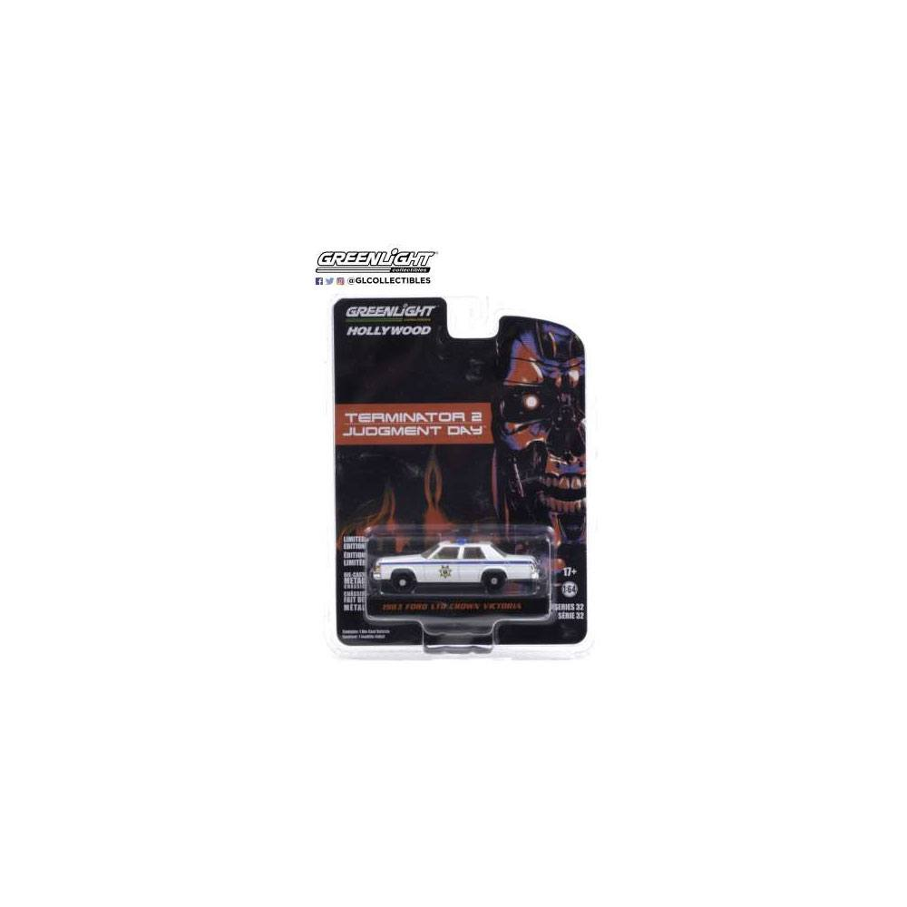 Terminator 2 Judgment Day (1991) Diecast Model 1/64 1983 Ford LTD Crown Victoria Police