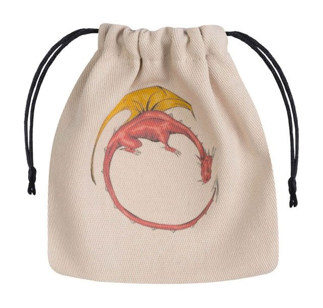 Dragon Dice Bag beige & multicolor