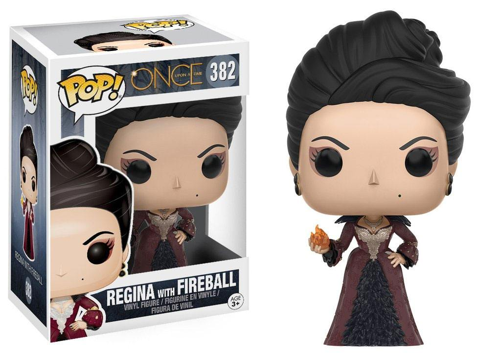 Once Upon a Time POP! Television Vinyl Figure Regina with Fireball 9 cm