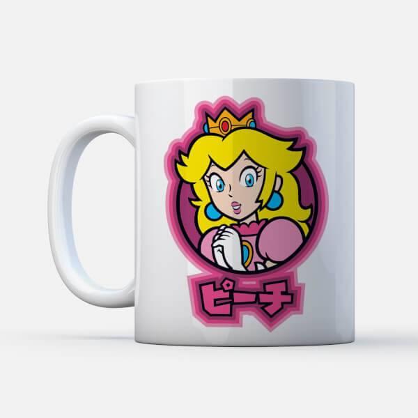 Nintendo Mug Peach Kanji