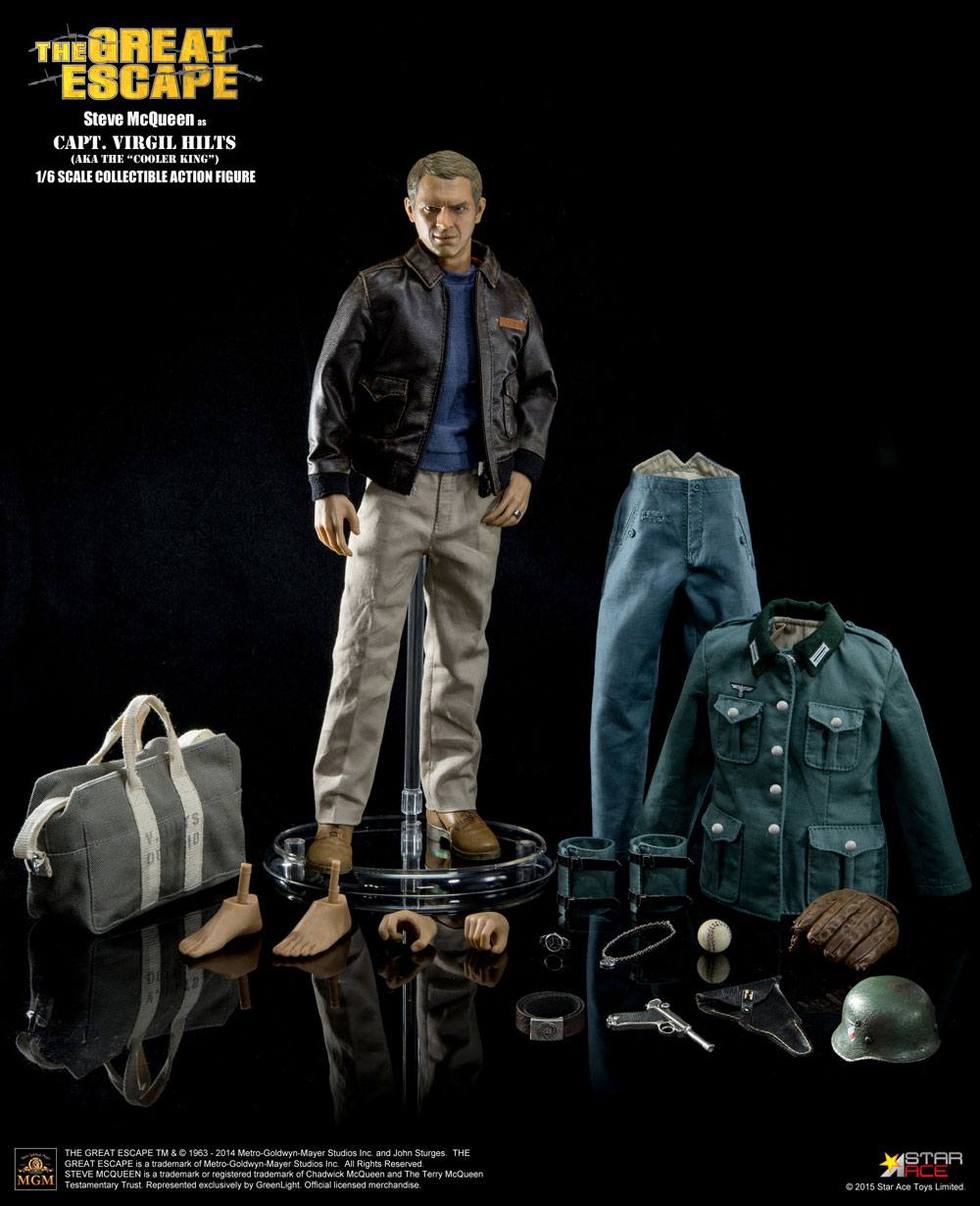 The Great Escape My Favourite Legend Action Figure 1/6 Steve McQueen Special Edition 30 cm