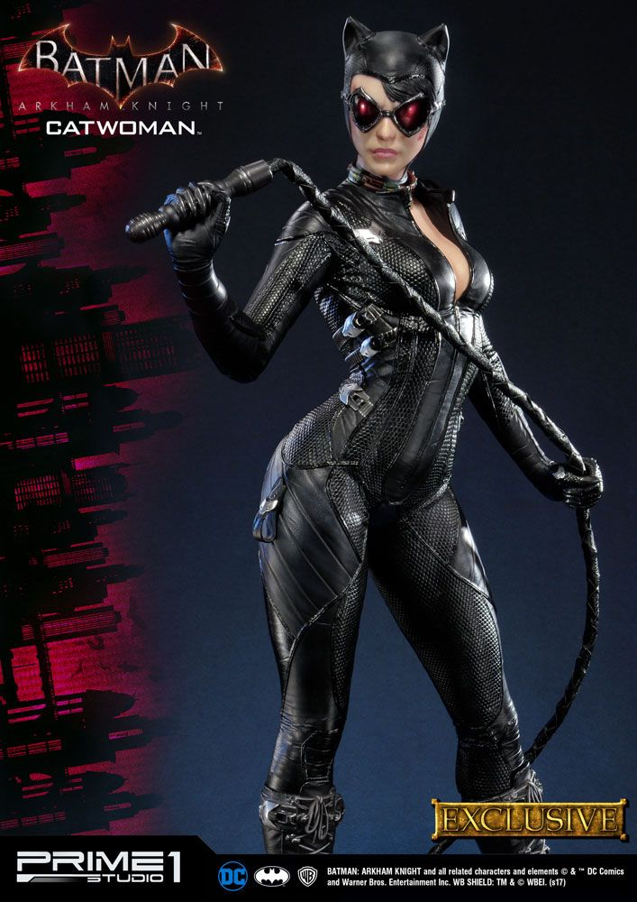 Batman Arkham Knight Statues Catwoman & Catwoman Exclusive 79 cm Assortment (3)