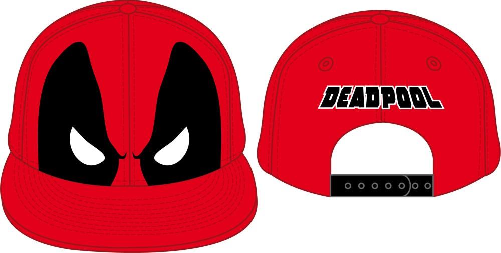 Deadpool Adjustable Cap Eyes