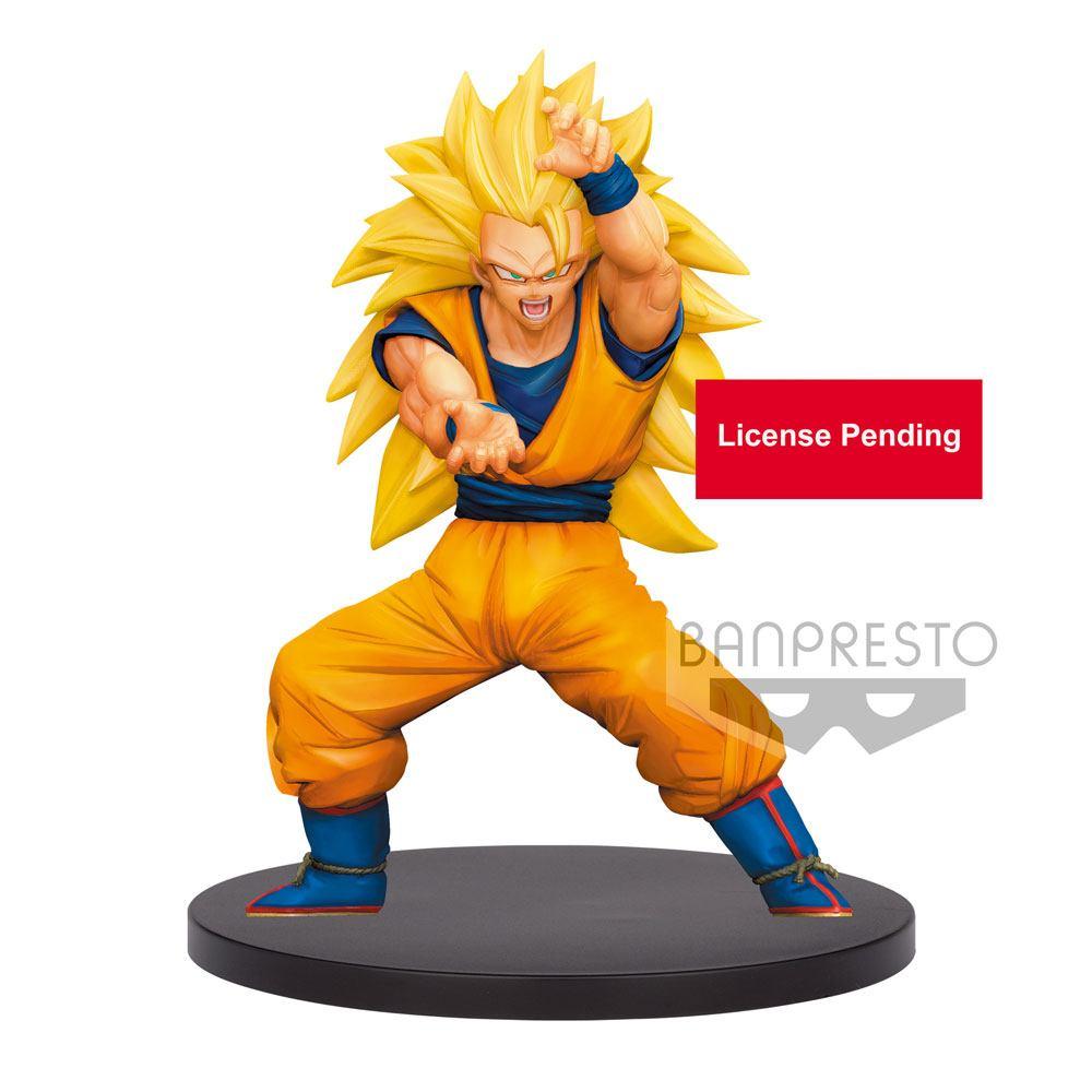 Dragon Ball Super Chosenshiretsuden PVC Statue Super Saiyan 3 Son Goku 16 cm
