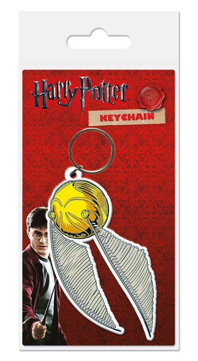 Harry Potter Rubber Keychain Snitch 6 cm