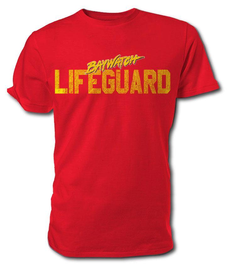 Baywatch T-Shirt Lifeguard Size S