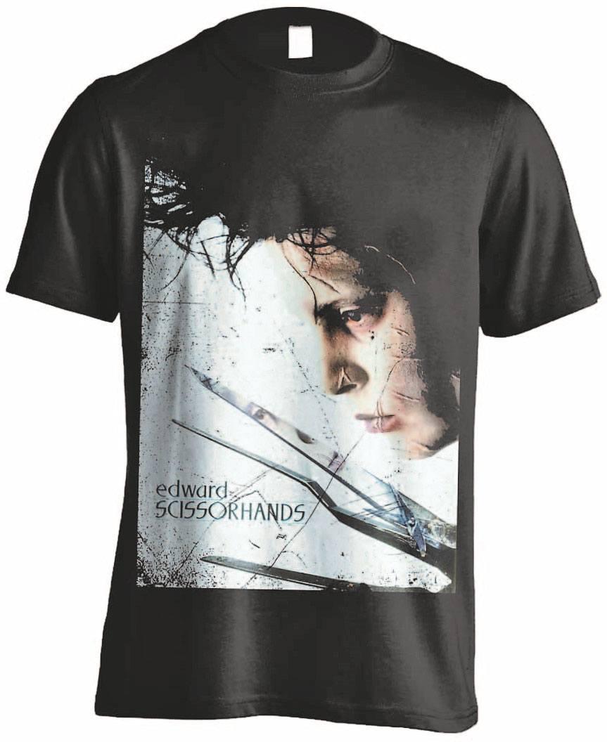 Edward Scissorhands T-Shirt Profile Poster Size XL