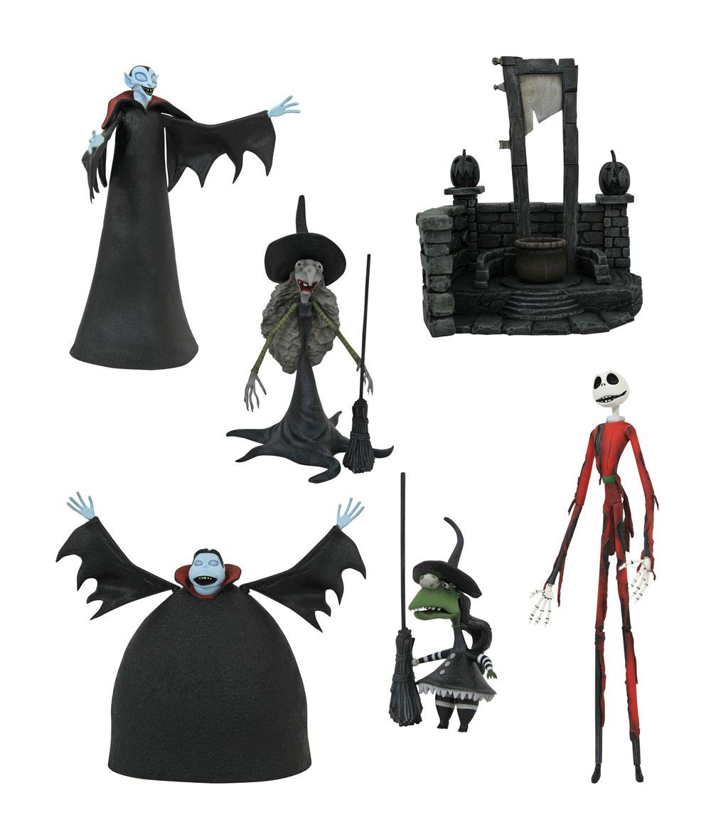 Nightmare before Christmas Select Action Figures 18 cm Series 8 Assortment (6)