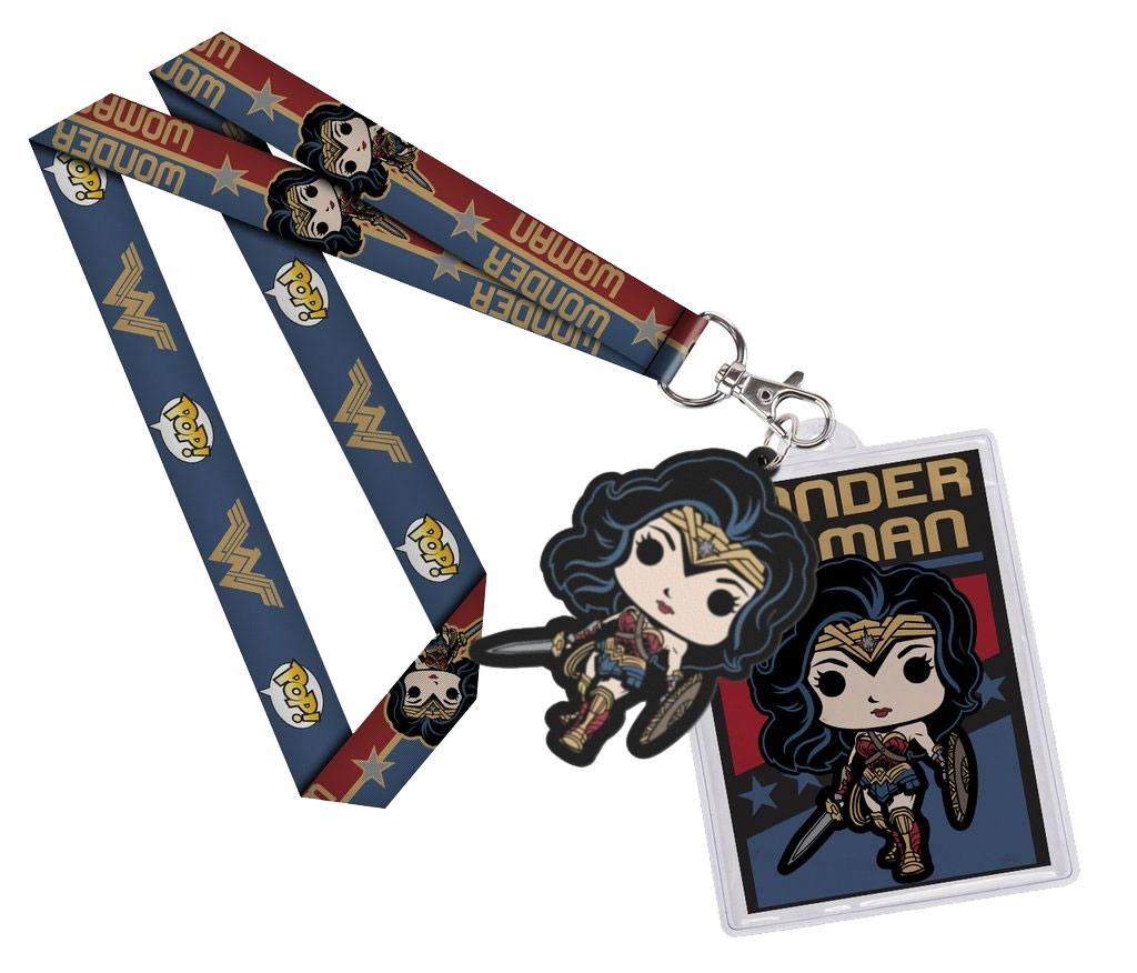 Wonder Woman Movie POP! Lanyard with Rubber Keychain Wonder Woman