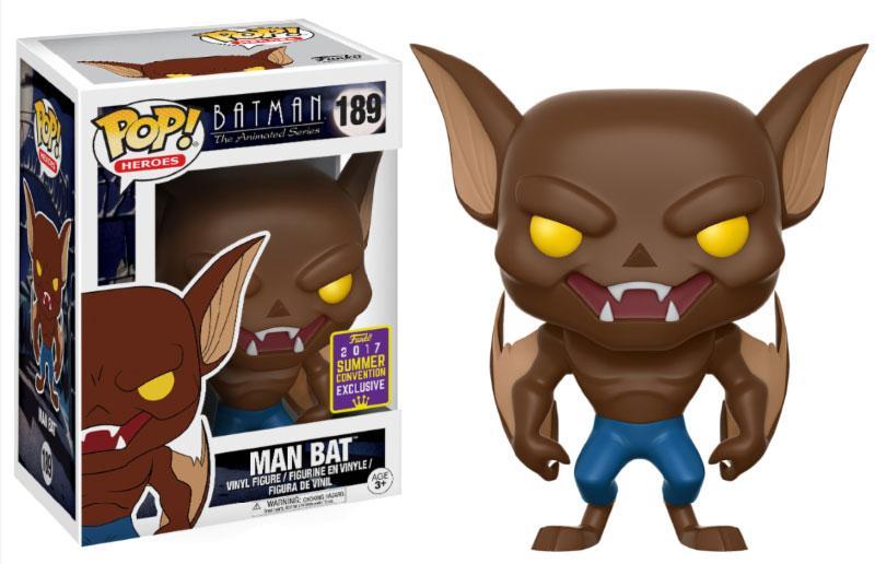 Batman The Animated Series POP! Heroes Figure Man Bat 9 cm