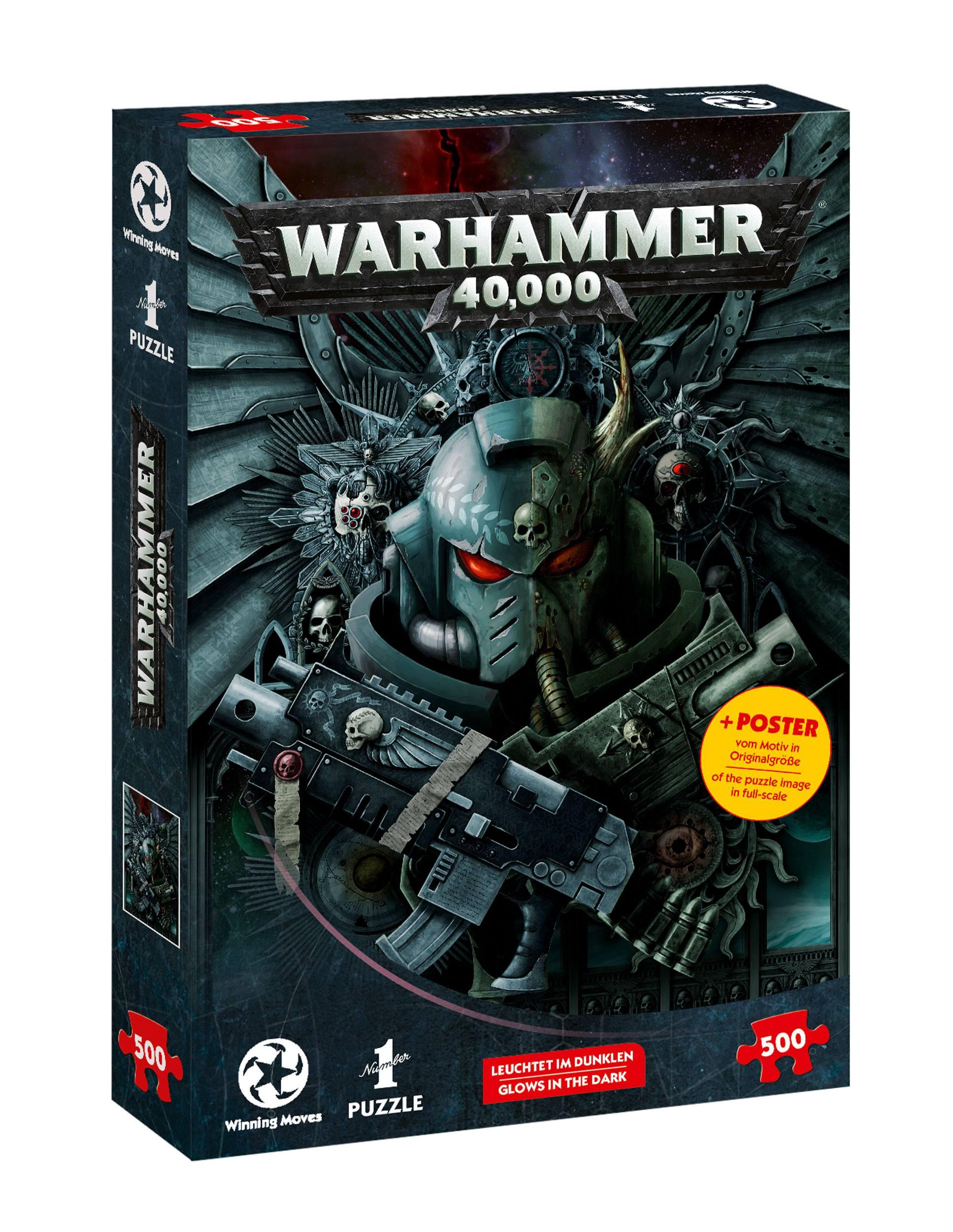 Warhammer 40.000 Jigsaw Puzzle Glow-in-the-dark