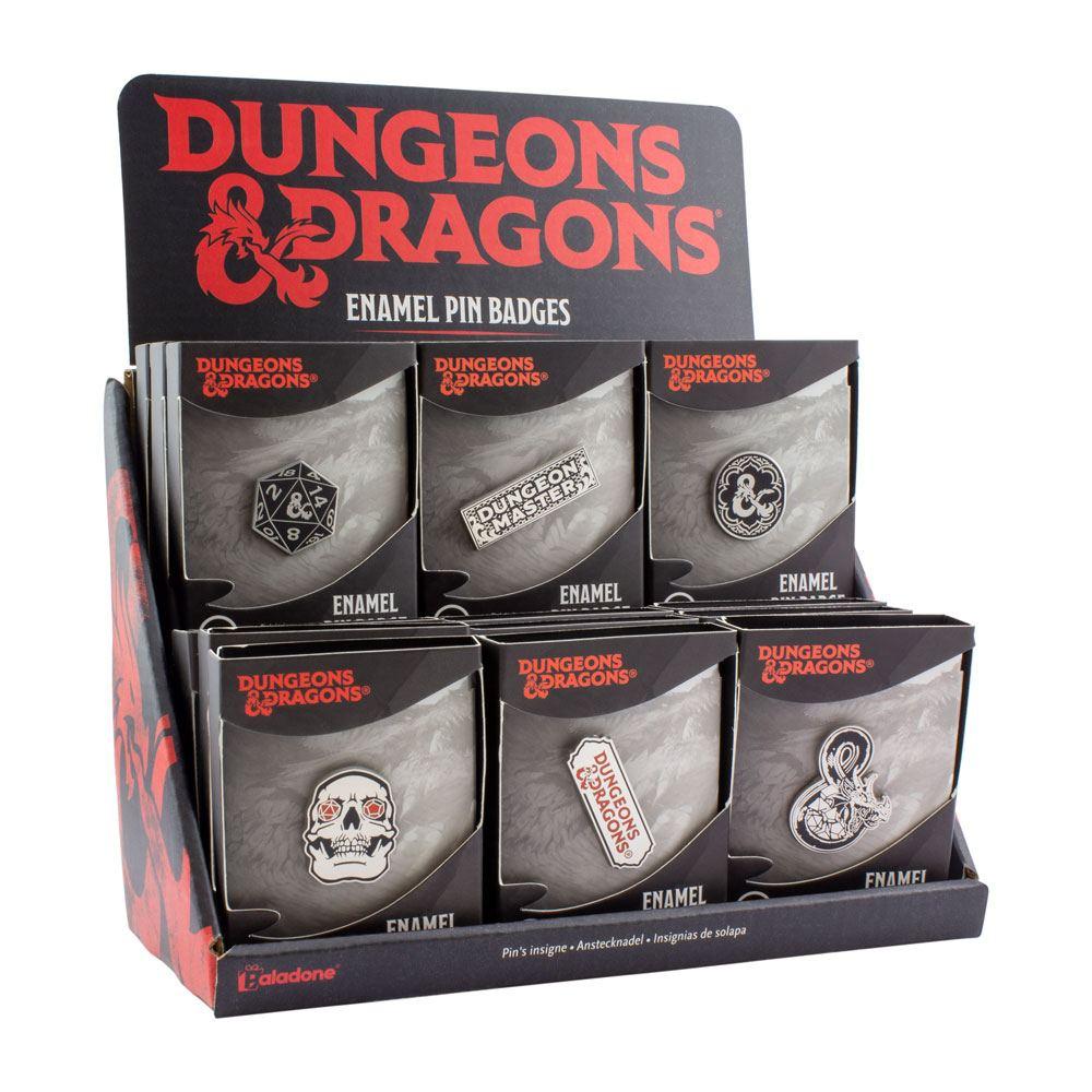 Dungeons & Dragons Enamel Pin Display (18)