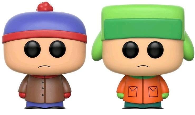 South Park POP! Marvel Vinyl Figures 2-Pack Stan & Kyle 9 cm
