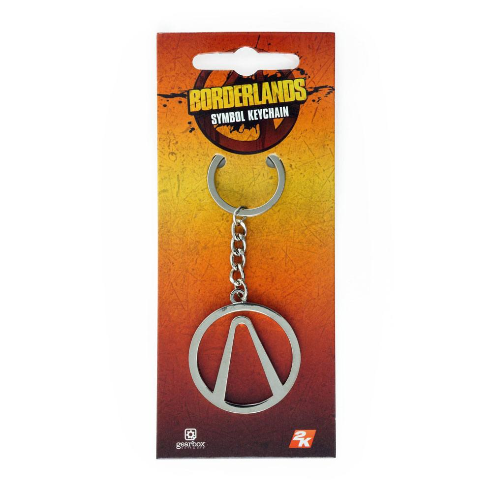 Borderlands Metal Keychain Symbol