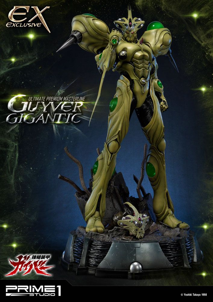 Guyver The Bioboosted Armor Statues Guyver Gigantic & Guyver Gigantic Exclusive 85 cm Assortment (3)