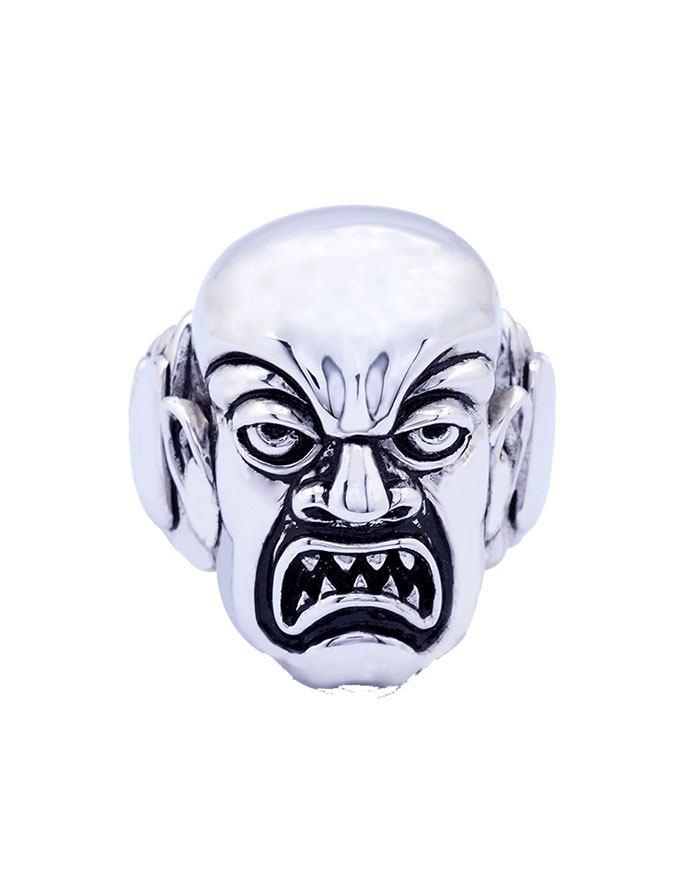 Rob Zombie Ring Phantom Creep (Plated Brass) Size 09