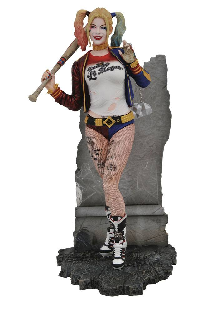 DC Movie Gallery PVC Statue Suicide Squad Harley Quinn 20 cm