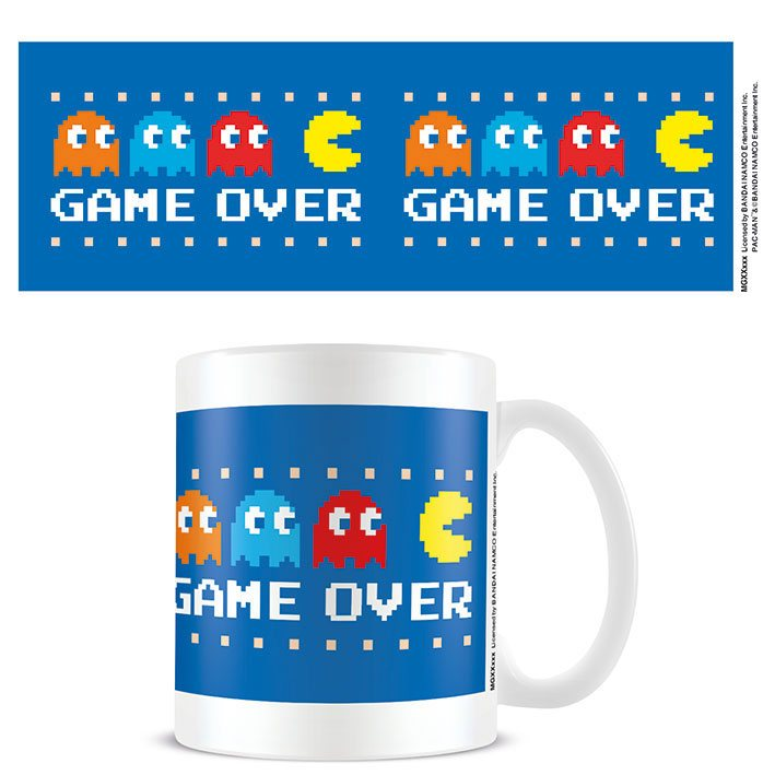 Pac-Man Mug Game Over