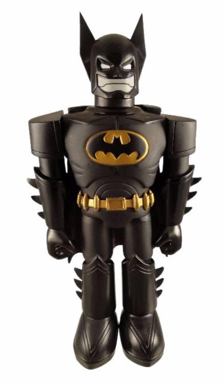 DC Comics Vinyl Invaders Action Figure Batman Robot SDCC 2012 Exclusive 28 cm