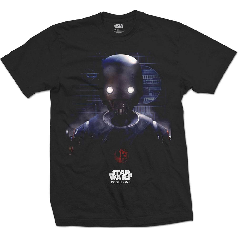Star Wars Rogue One T-Shirt K-2SO Prime Force 01 Size S