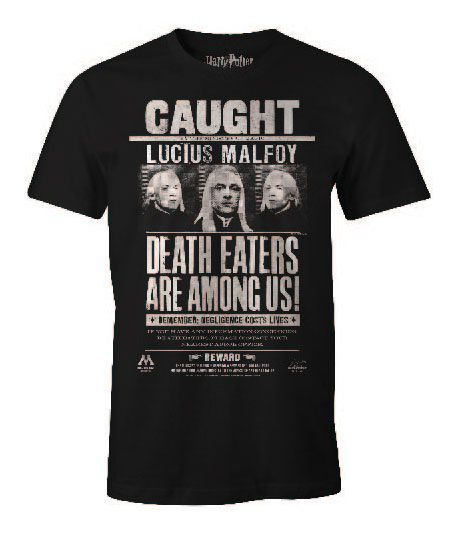 Harry Potter T-Shirt Lucius Malfoy Size L