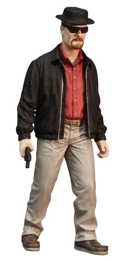 Breaking Bad Action Figure Heisenberg Previews Exclusive 30 cm --- DAMAGED PACKAGING