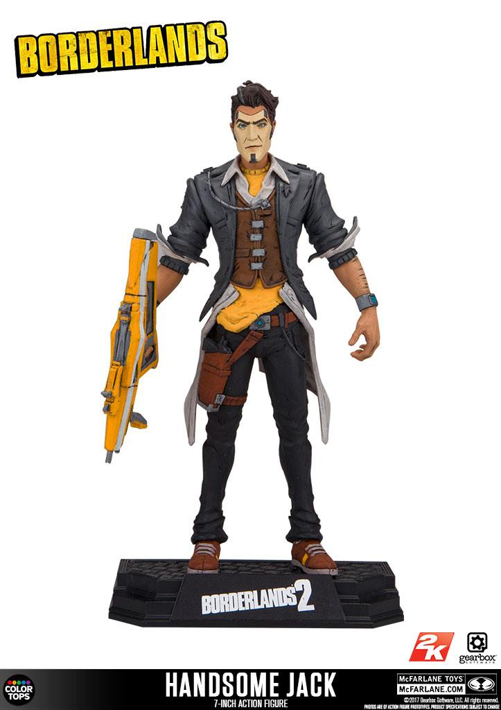 Borderlands 2 Color Tops Action Figure Handsome Jack 18 cm