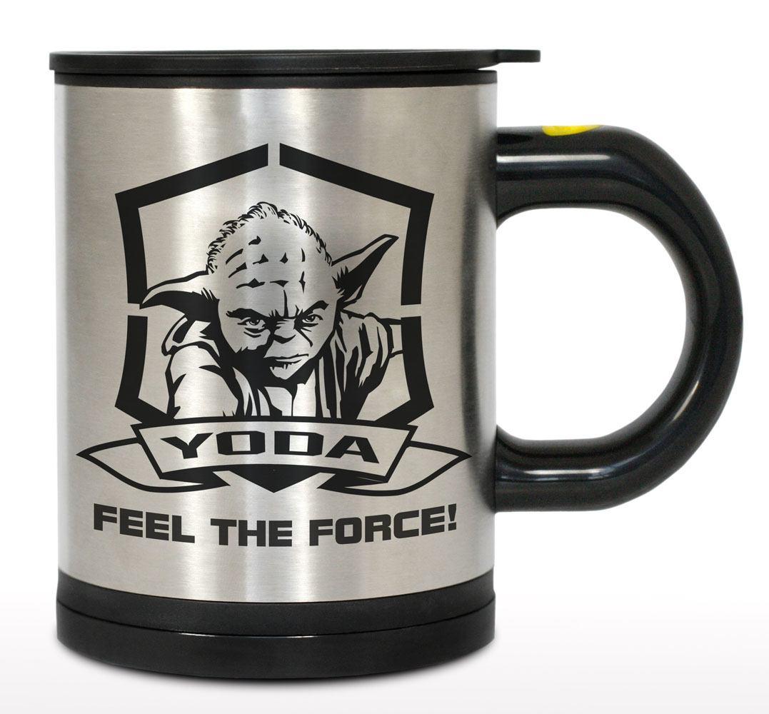 Star Wars Self Stirring Thermo Mug Yoda