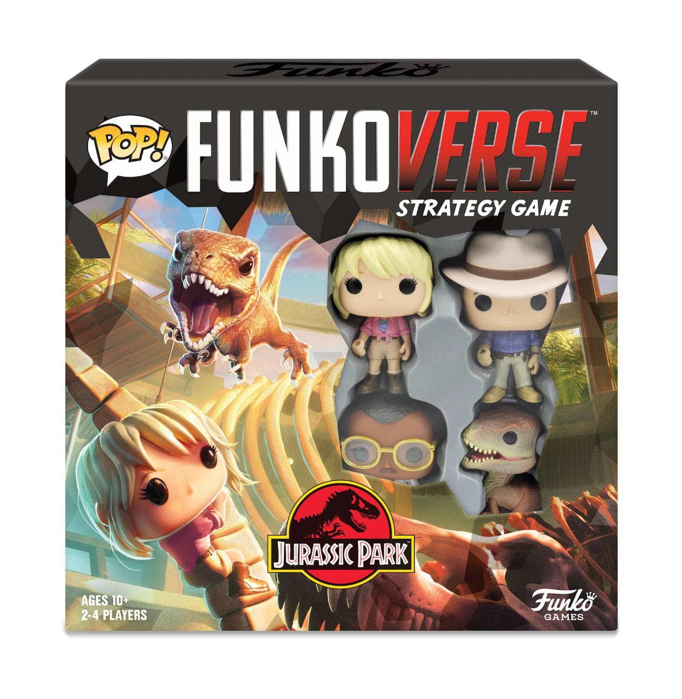 Jurassic Park Funkoverse Board Game 4 Character Base Set *English Version*