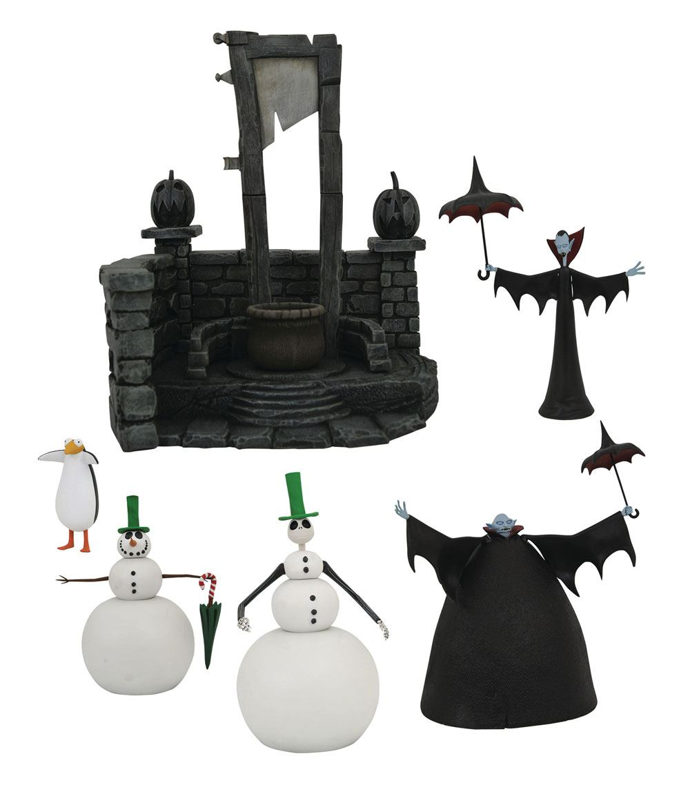 Nightmare before Christmas Select Action Figures 18 cm Series 7 Assortment (6)
