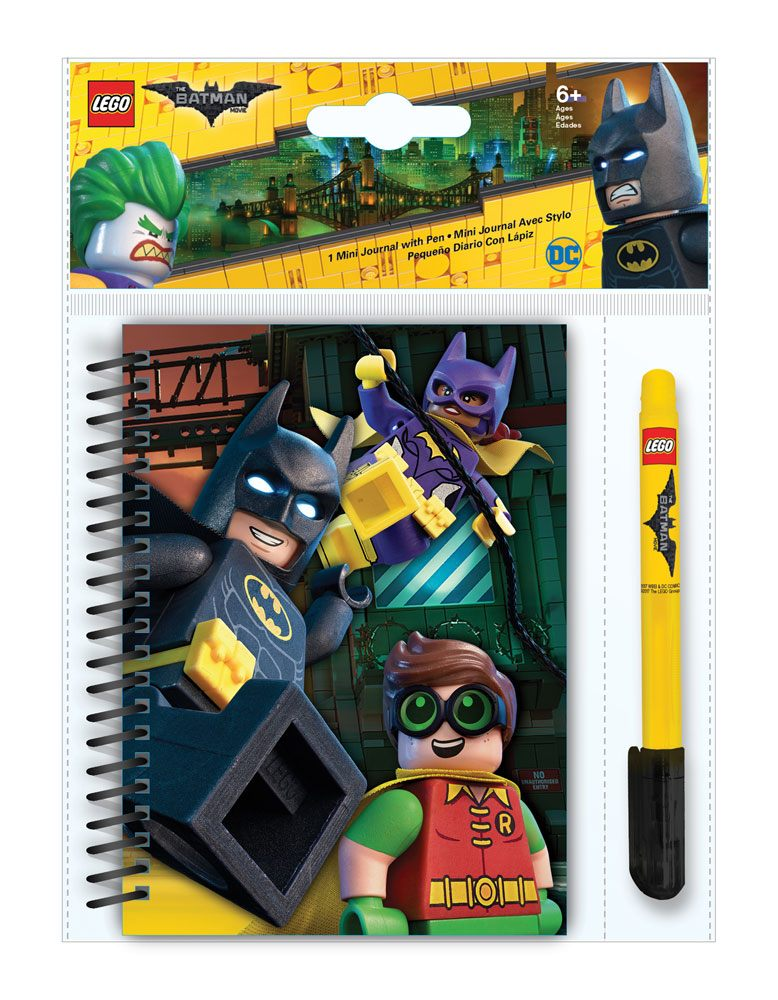 LEGO Batman Movie Notebook with Pen