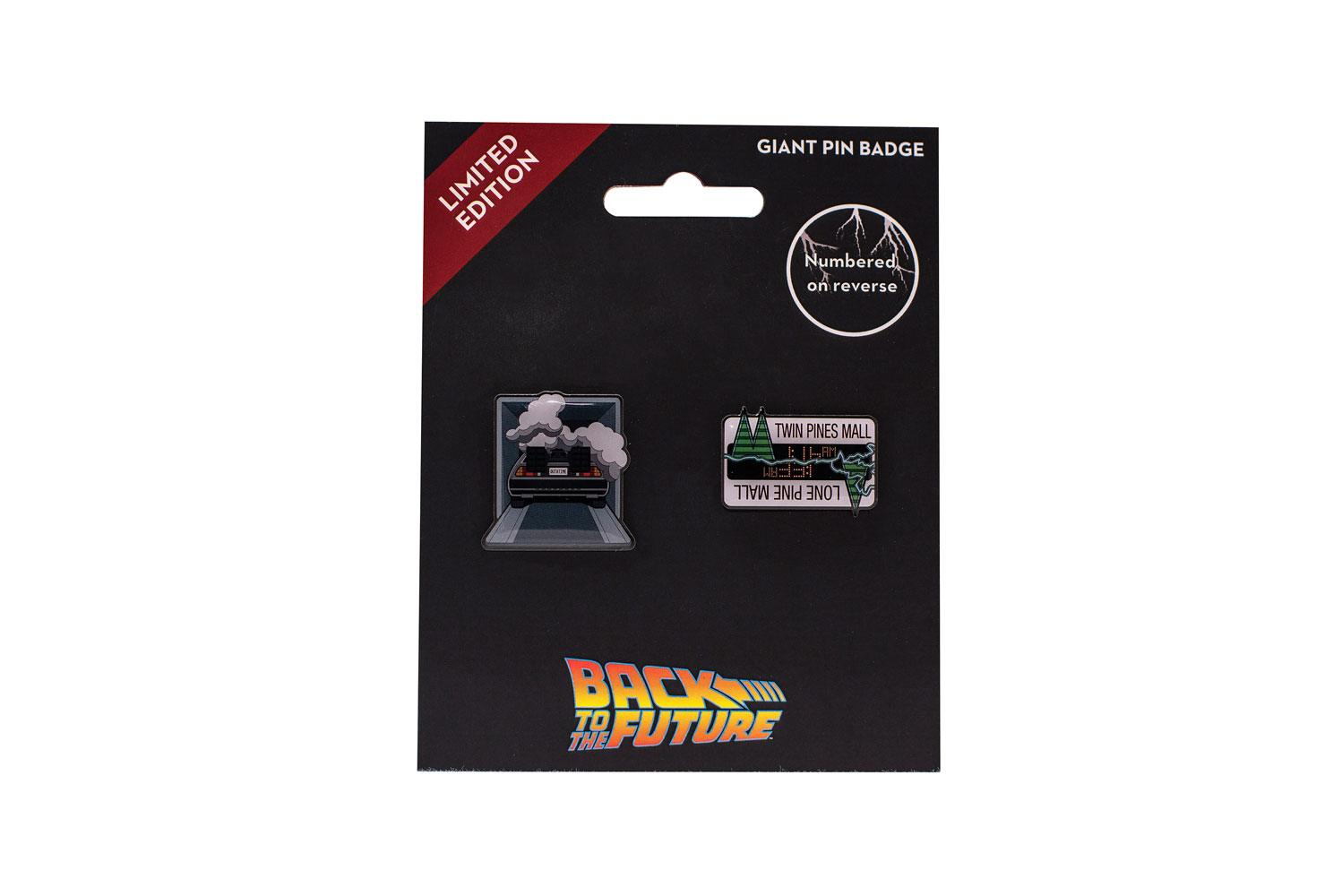 Back to the Future Pin Badge 2-Pack 3 cm