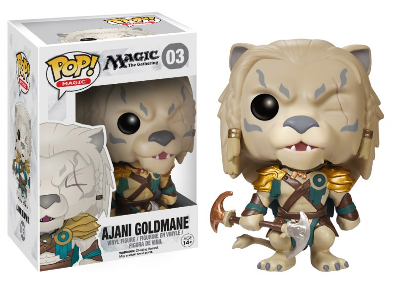 Magic the Gathering POP! Vinyl Figure Ajani Goldmane 10 cm