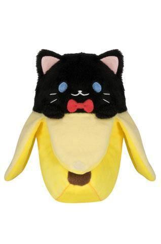 Bananya Plush Figure Black Bananya 15 cm