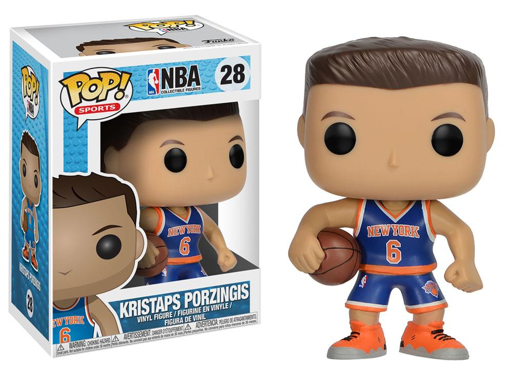 NBA POP! Sports Vinyl Figure Kristaps Porzingis (New York Knicks) 9 cm