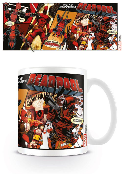 Deadpool Mug Comic Insufferable