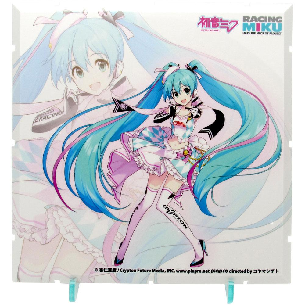 Dioramansion 150 Decorative Parts Racing Miku Pit 2019 Optional Panel (Key Visual 1)