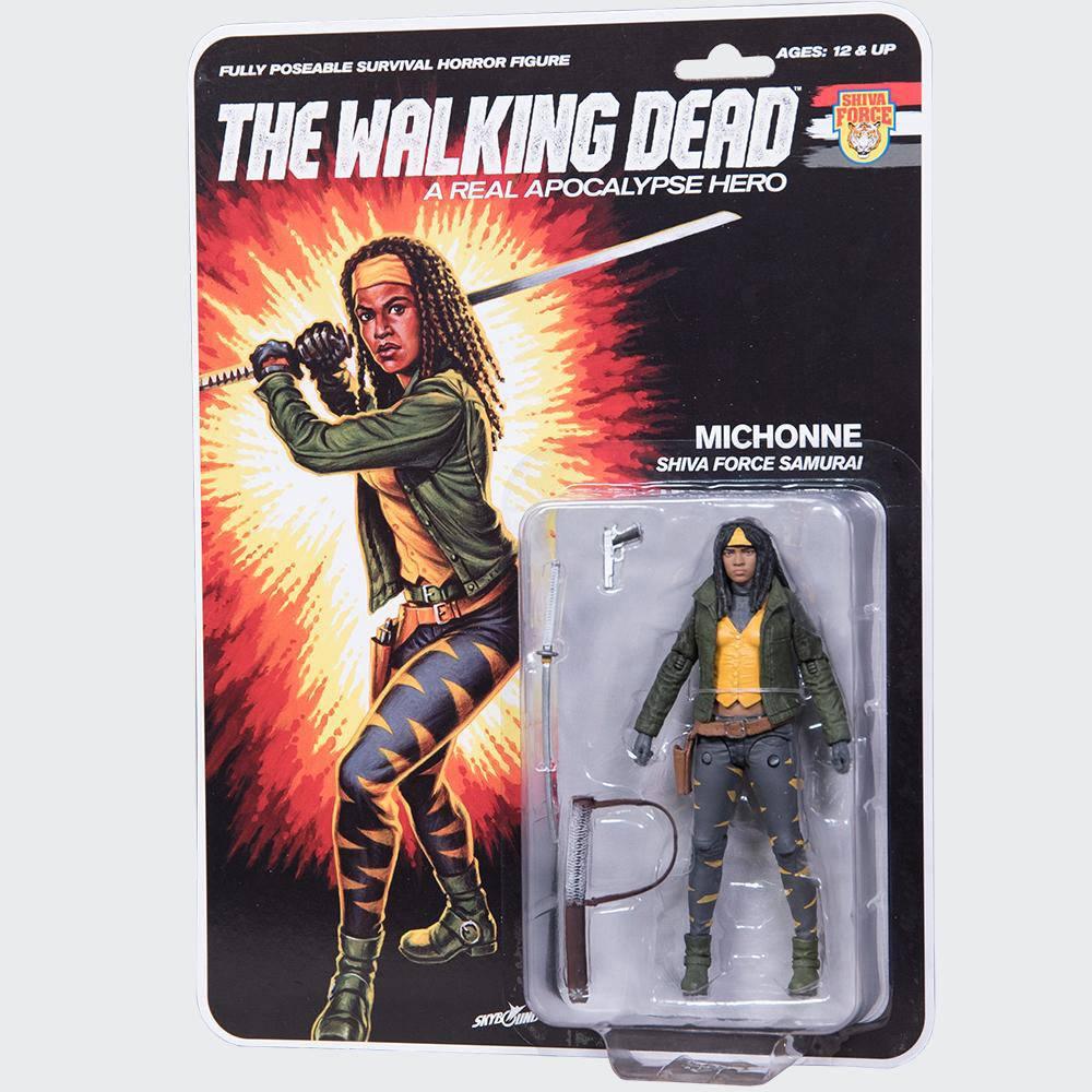 The Walking Dead Action Figure Shiva Force Samurai Michonne (Color) 13 cm