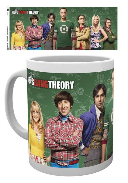 Big Bang Theory Mug Cast