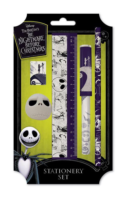 Nightmare Before Christmas 5-Piece Stationery Set