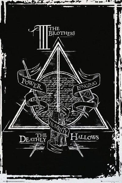 Harry Potter Poster Pack Deathly Hallows Graphic 61 x 91 cm (5)