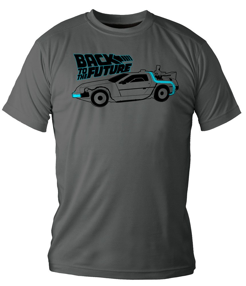 Back to the Future T-Shirt DeLorean  Size M