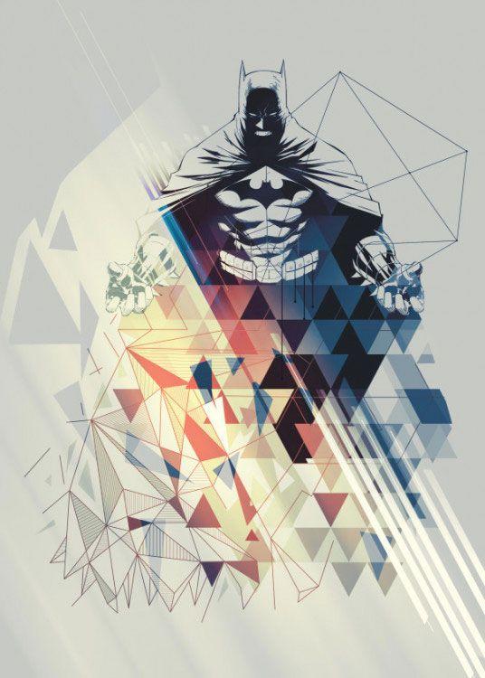 DC Comics Metal Poster Gotham Protectors Dawn of the Knight 10 x 14 cm