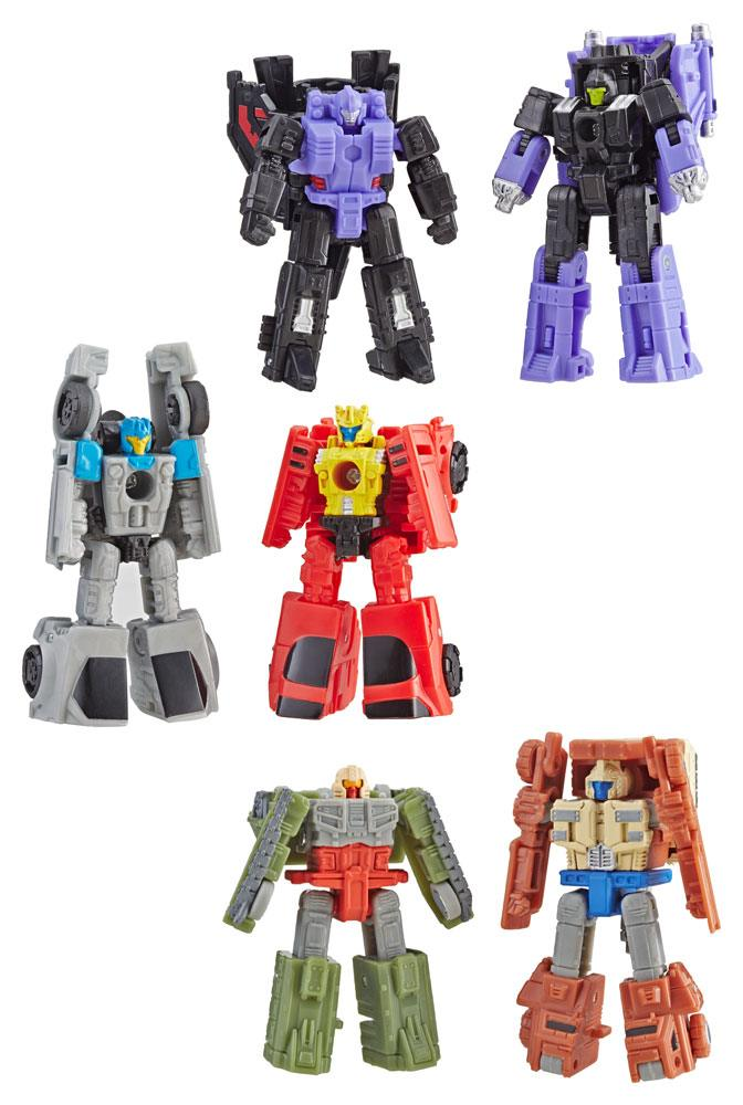 Transformers Generations War for Cybertron: Siege Action Figures Micromasters 2019 W1 Assortment (8)